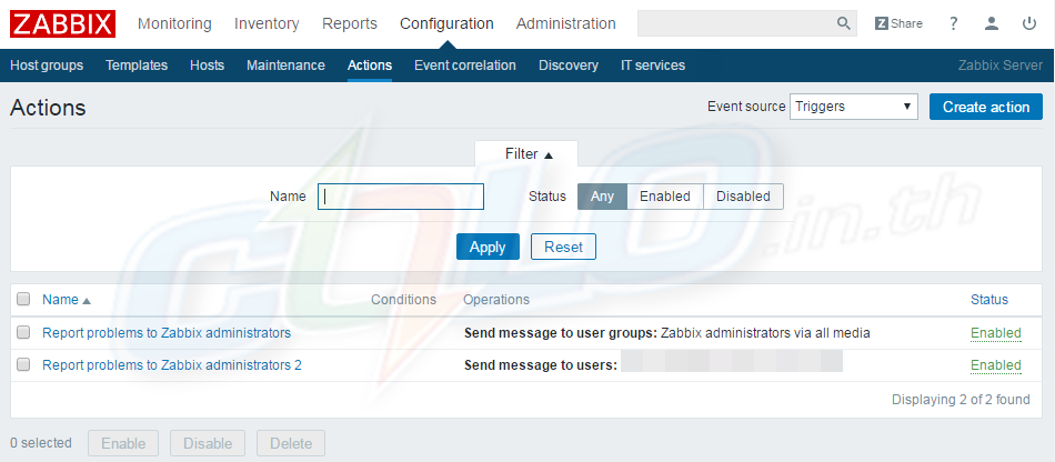 Zabbix LINE Notify