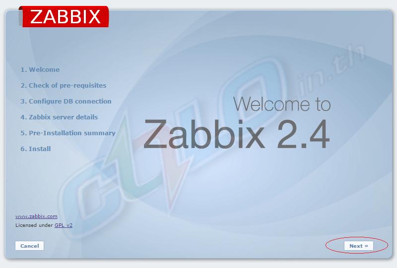 Install Zabbix Server